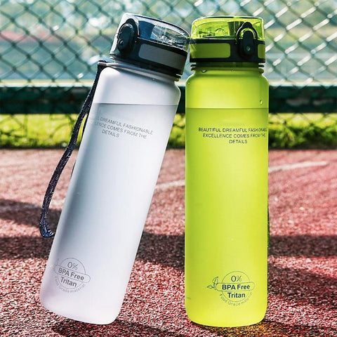 Explosion Sport Water Bottles Protein Shaker Outdoor Travel Portable Leakproof Tritan plastic Drink Bottle