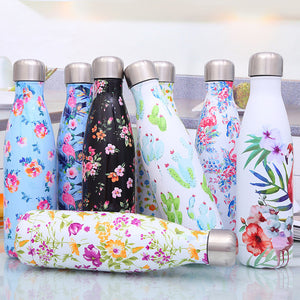 Stainless Steel Insulated Sport Travel Bottle