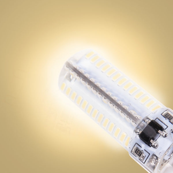 4x G9 5W 104 LED 3014SMD Spotlight Spot Light Lamp Bulb Energy Saving Warm White