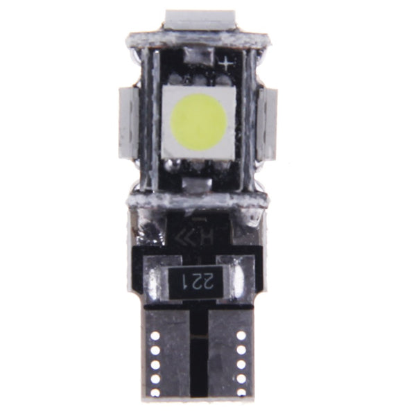 10x ERROR FREE CANBUS T10 5050 5 SMD LED XENON HID WHITE W5W 501 SIDE LIGHT BULB