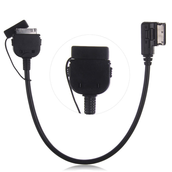 Audi + VW iPod iPhone AMI MMI Audio Cable Adaptor Interface Lead Connector sline