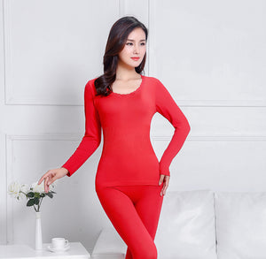 Women Winter Thermal Underwear Suit Ladies Thermal Underwear Women Clothing Female Long Johns