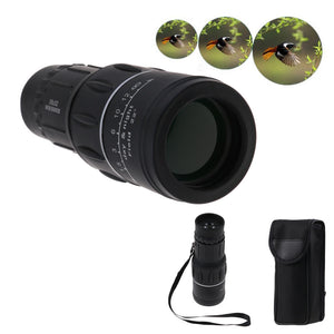 High-Power 16x52 HD Optical Monocular High-Definition Night and Day Vision Monocular Telescope