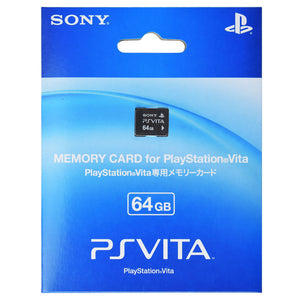 100% Official Sony PS Vita Memory Card (32GB/64GB)