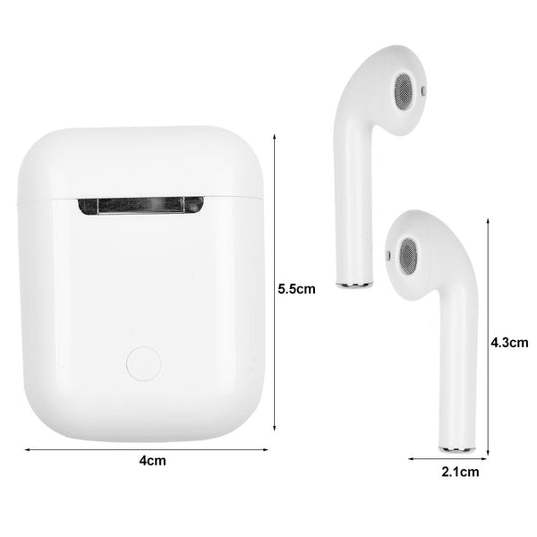 i14 TWS 1:1 Wireless Bluetooth 5.0 3D Super Bass Earphone Headset Headphone