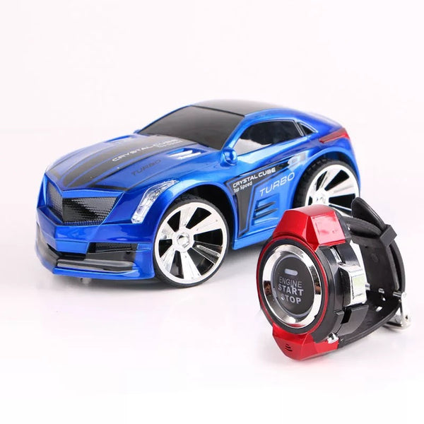2.4G Voice Control RC Drift Car with Smart Watch Remote Controller Electric Toys