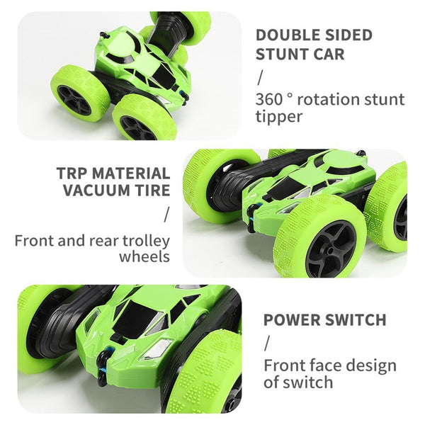 RC Car 360 Degree Roll Double Sided Off -Road Stunt Car