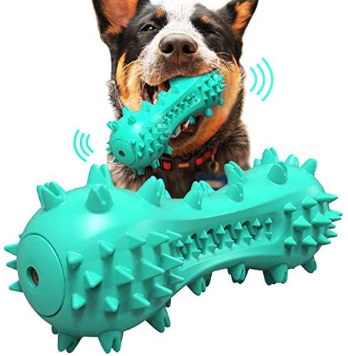 Dog Squeaky Toys Teeth Cleaning Dental Toys