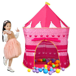 Portable Folding Princess Play Tent House Children Kids Castle Indoor Outdoor Only Tent
