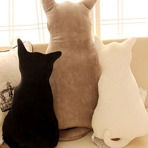 New Stylish Cat Soft Plush Back Shadow Toy Sofa Pillow Seat Cushion Birthday Gift