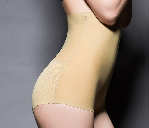 Women Sexy Seamless Padded Panties Young Lady Carry Buttock Underwear
