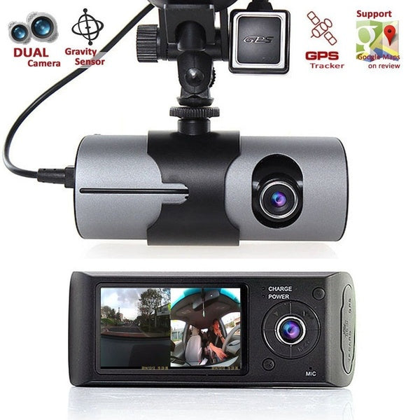 "Car DVR X3000 R300 with 2.7"" GPS Vehicle Camera Video Recorder Dash Cam Dashboard Portable Recorder"