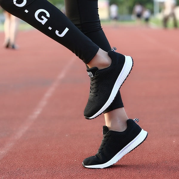 Women Casual Sport Shoes Fashion Running Shoes for Teenagers
