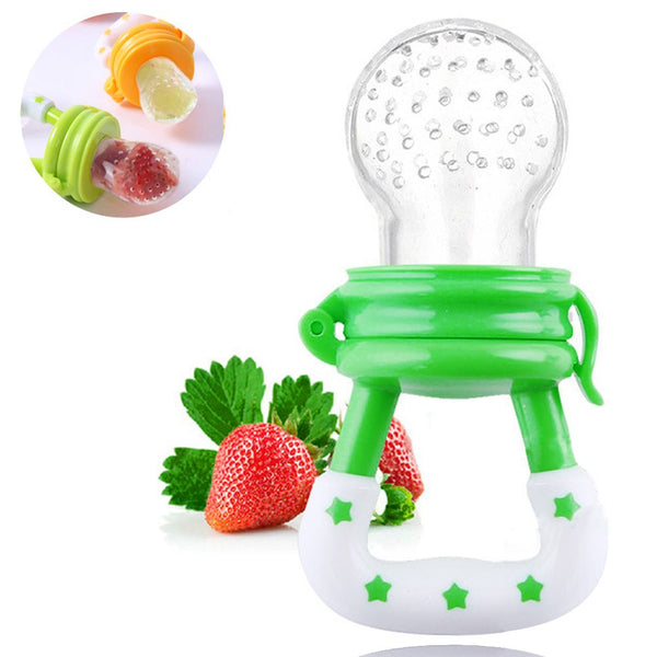 Baby Pacifier Easy Grip Fresh Food Baby Supplies Safe Nibbler Feeder Feeding