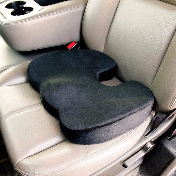 Memory Foam Pillow Home Office Car Chair Seat Cushion Comfort Back Ache Pain Orthopedic Pad