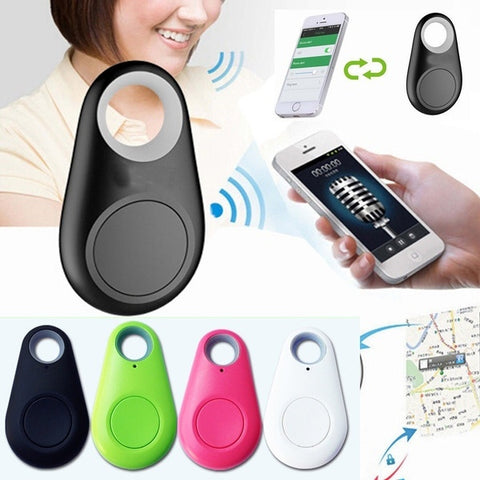 Smart Bluetooth Traker GPS Locator Tag Alarm Wallet Key Pet Dog Phone Smart Finder