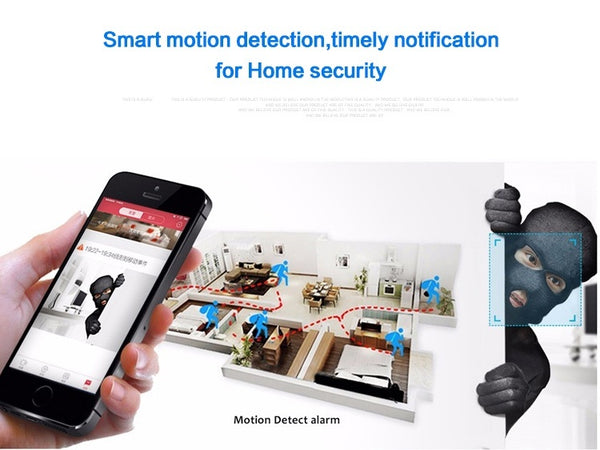 960P Wireless Wifi Security Camera 360 Degree Fisheye Panoramic IP Camera Super Wide Angle Support IR Night Motion