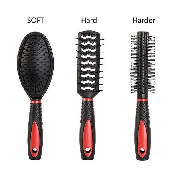 5pcs Hair Comb Set Hair Styling Tools Hairdressing Combs Set Mirror In Gift Box Professional Salon Products Brush