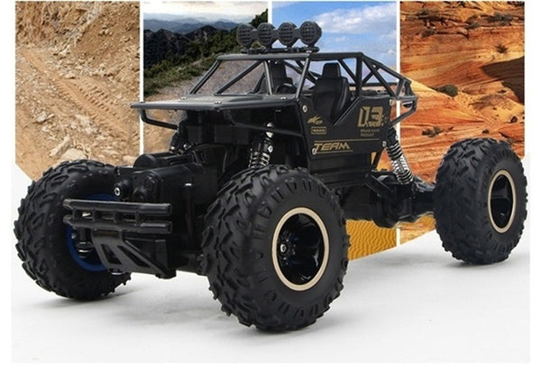 1:16 4WD RC Cars Alloy Speed 2.4G Radio Control RC Cars Alloy Suvs Buggy High Speed Trucks Toys Children Gift