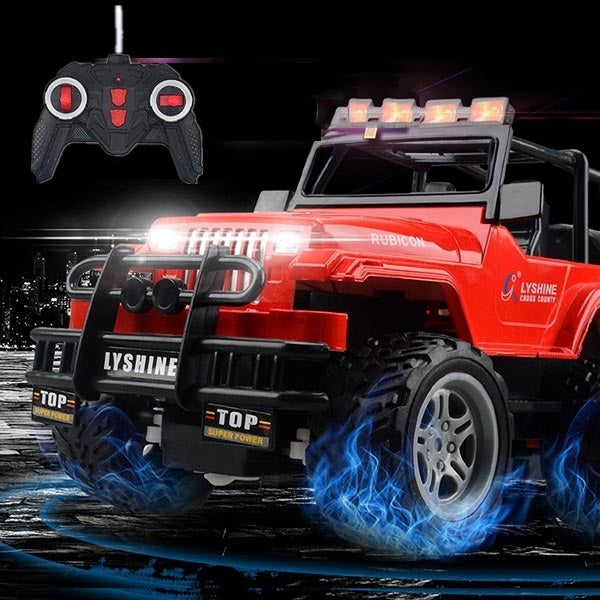 Children's Electric Four-way Charge Remote Control Car Off-road Convertible Model Toy 5 Color