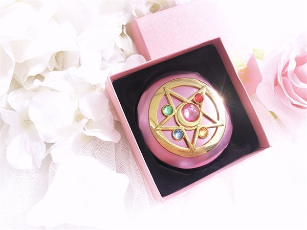 Sailor Moon Moonlight Memory Crystal Star Mirror Case cosmetic make up mirror