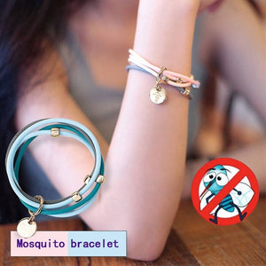 Anti Mosquito Insect Bugs Repellent Repeller Wrist Bands Bracelet