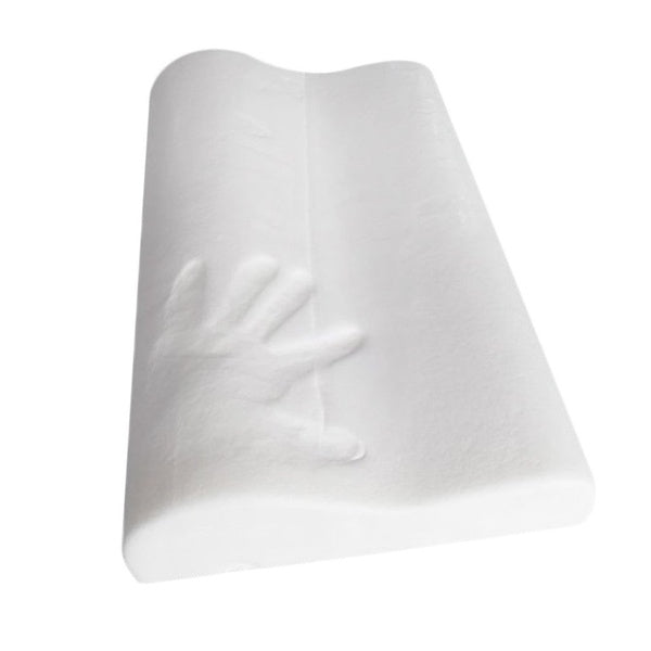 Ergonomic Contour Memory Foam Pillow Head Neck Back Sleep ...