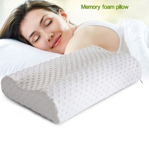 Ergonomic Contour Memory Foam Pillow Head Neck Back Sleep Support Health Care