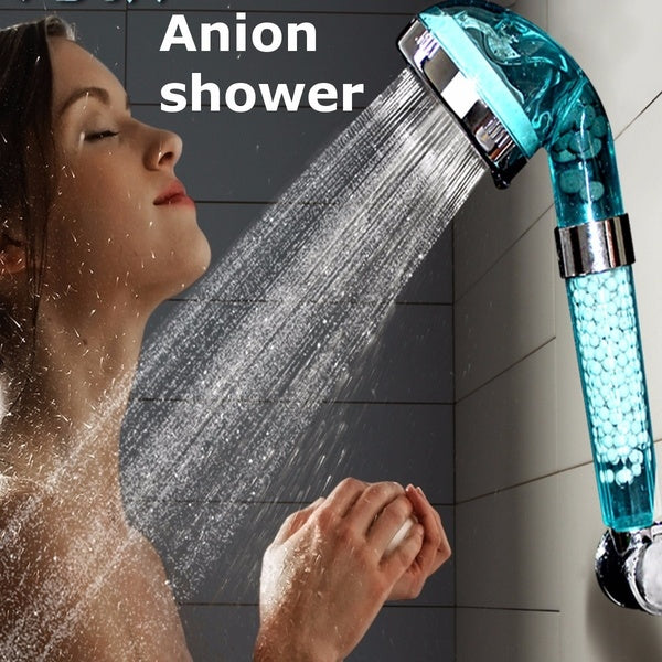 Anion Water-saving Bathroom Shower Head Filtration Handheld