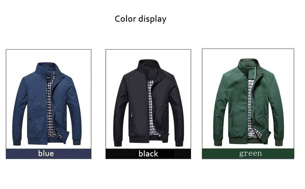 Men's Casual Jacket Sportswear Bomber Jacket