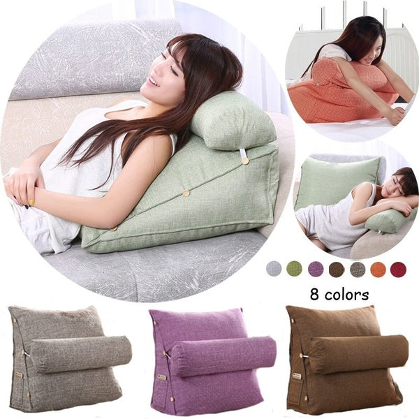 9 Colors Adjustable Cushion Lounger Bed