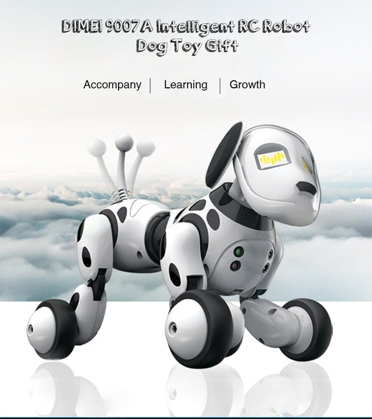 Electronic Pet Intelligent Dog Robot Toy 2.4G Smart Wireless Talking Remote Control Robot