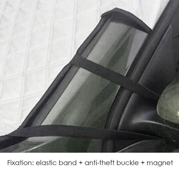 Cotton Car Winter Summer Magnetic Windscreen Windshield Cover Anti Snow Frost Ice Window Mirror Protector