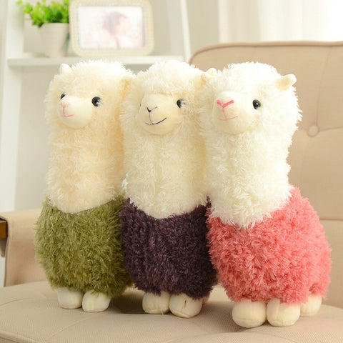 Lovely Small Llama Alpaca Plush Stuffed Doll Toy Gift for Kids Girls