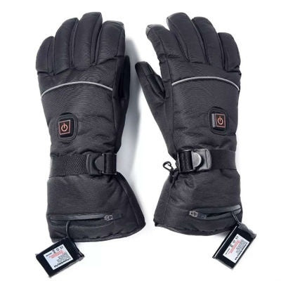 3 Control Level Battery Power Electric Heated Hand Winter Warm Gloves Waterproof