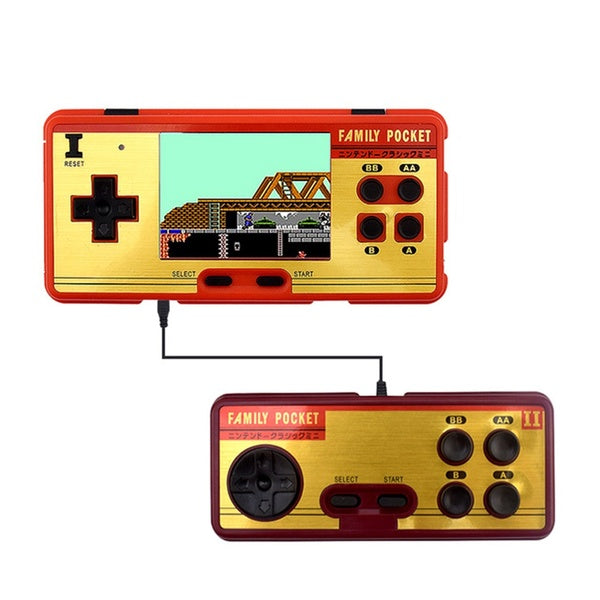 Portable Handheld Game Players Built in 638 Classic Games Console 8 Bit Retro Video Game For Gift Support AV Out Put