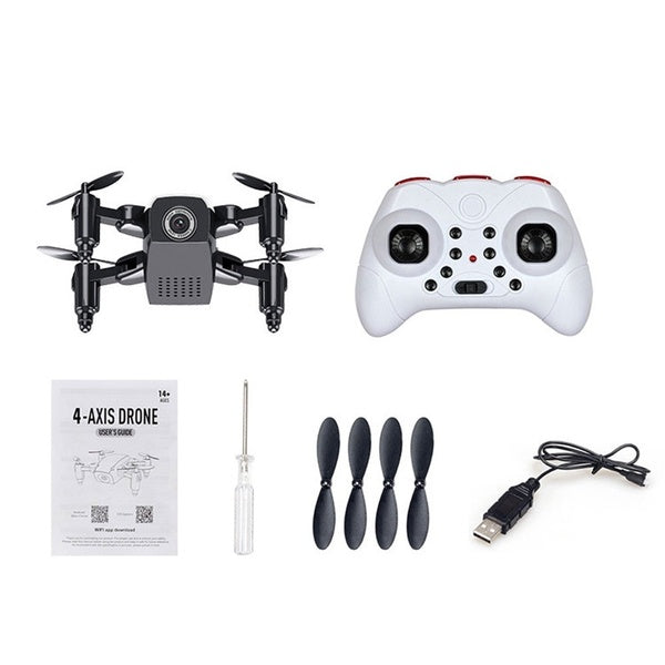 Drone Wifi FPV Quadcopter G-sensor Altitude Hold Foldable Selfie RC Drones with HD Camera Videos