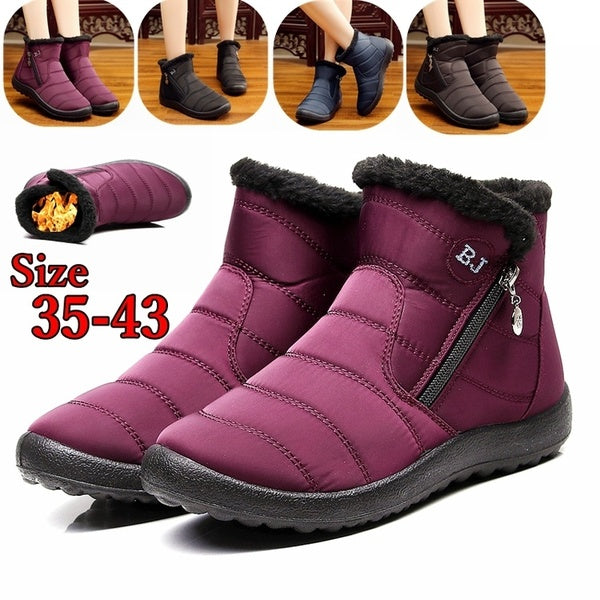 Winter Ankle Boots Non-slip Short Boots