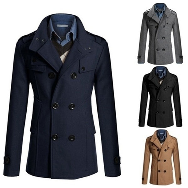 Men's Double Breasted Coat