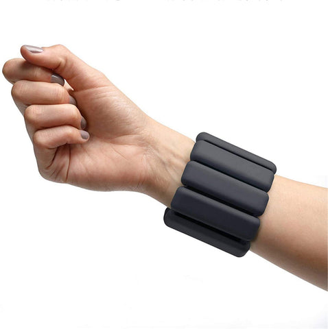 1 Pair Wrist Weights Adjustable Ankle Weight-Bearing Fitness Wristband