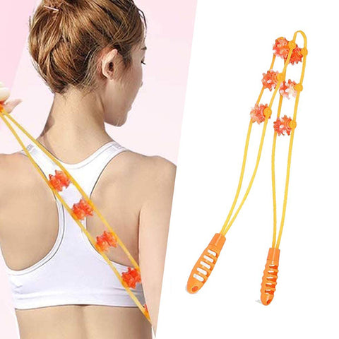 Handheld Self- Neck Back Massager Back Roller