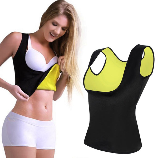 Women Lady Hot Neoprene Body Shaper Slimming Waist Belt Yoga Vest Underbust