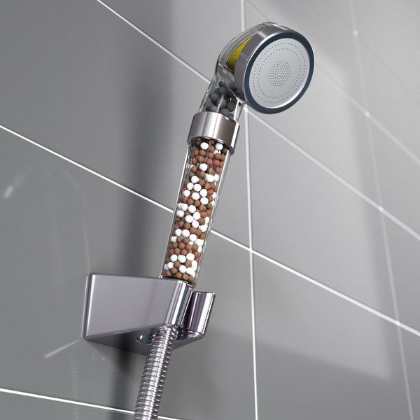 Softens Hard Water Vitamin C Filtered Shower