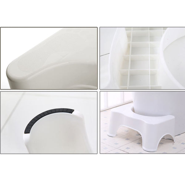 "OZ 7"" Sit & Squat Squatty Potty ECO Toilet Stool Healthy Colon Constipation"