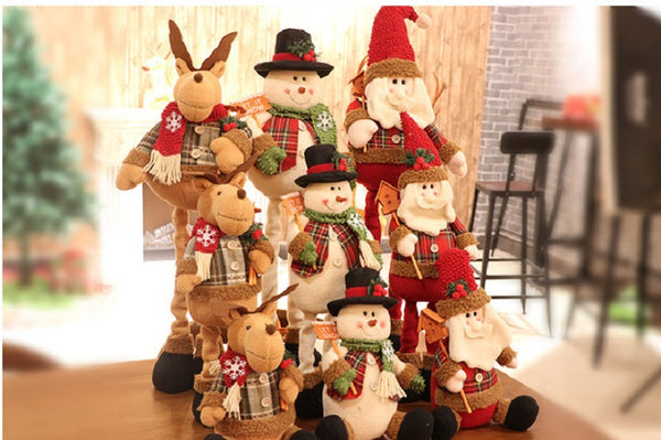 Christmas Telescopic Doll For Gift Or Decoration