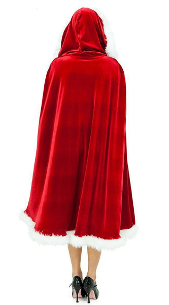 Adult Little Red Riding Hood Christmas Cape Cloak