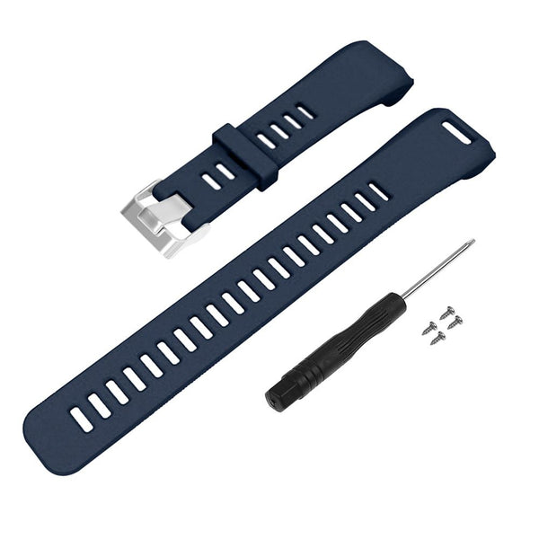 Replacement Silicone Wrist Strap Band For Garmin Vivosmart HR Activity Tracker