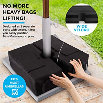 Detachable Patio Umbrella Base Weight Bag