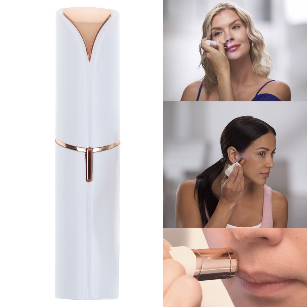 Lipstick Women's Painless Hair Remover Face Facial Hair Remover