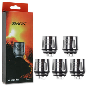 5x Smok TFV8 Baby Coil Head Cloud Beast For TFV8 Baby M2 Coils 0.15ohm / 0.25ohm
